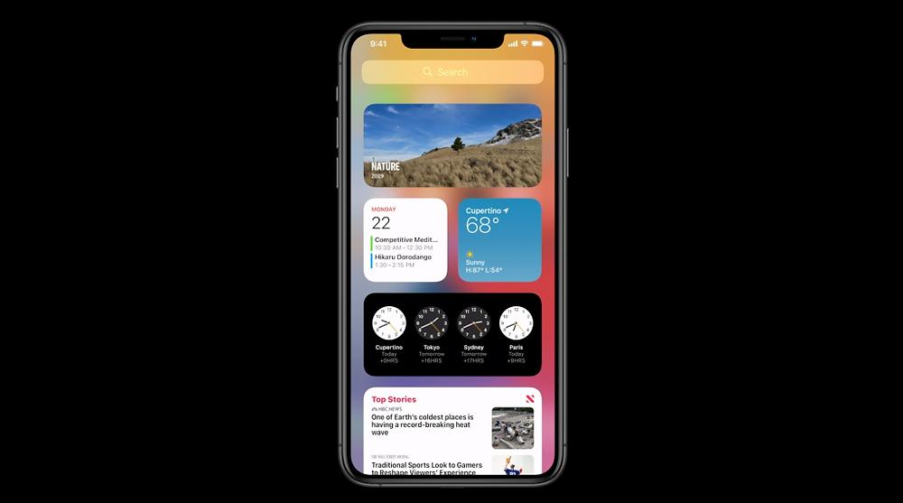 iOS 14 Apple iPhone Software Update widgets