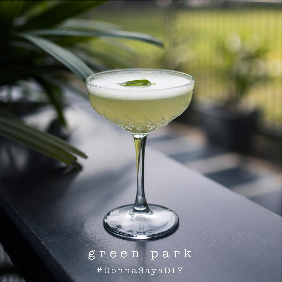 Green Park (Gin based cocktail)