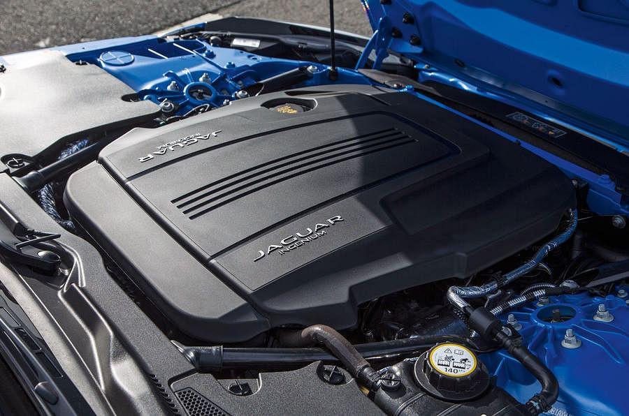 5.0-liter V-8 engine