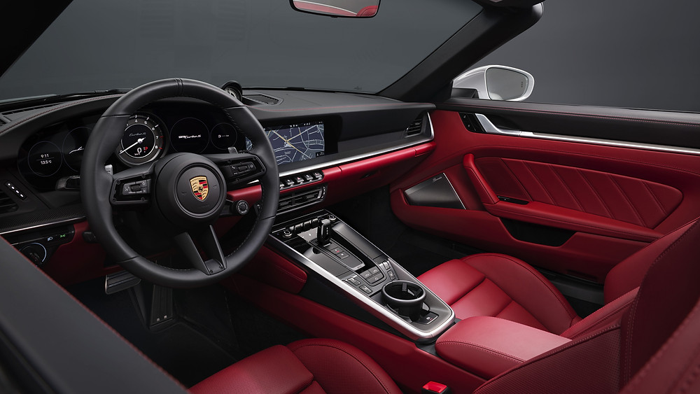 Beautiful Customised Porsche 911 Interior