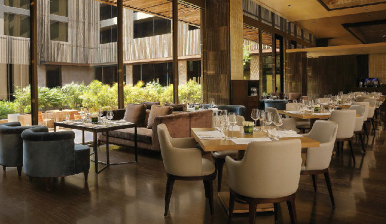Driven by the Delhi aero code, DEL is an all-day bistro serving changing menus  with an option of both indoor and alfresco dining choices at each meal time.
