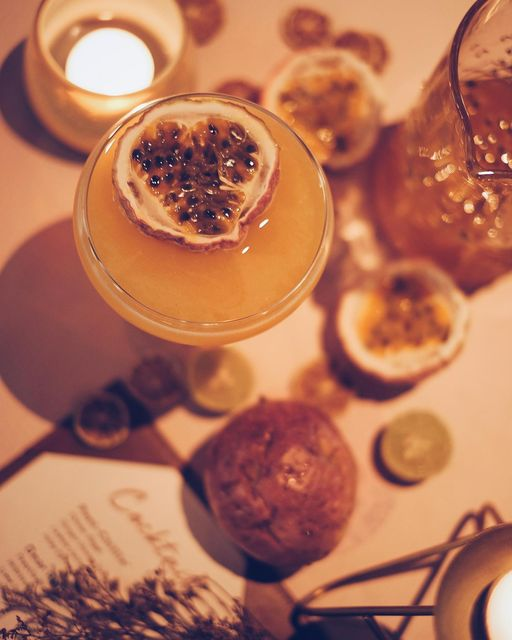 UK's most popular cocktail Pornstar Martini is stirred up with Vanilla-infused Vodka, Sparkling Wine, Passionfruit Syrup and Lemon Juice; making for an absolute crowd pleaser.