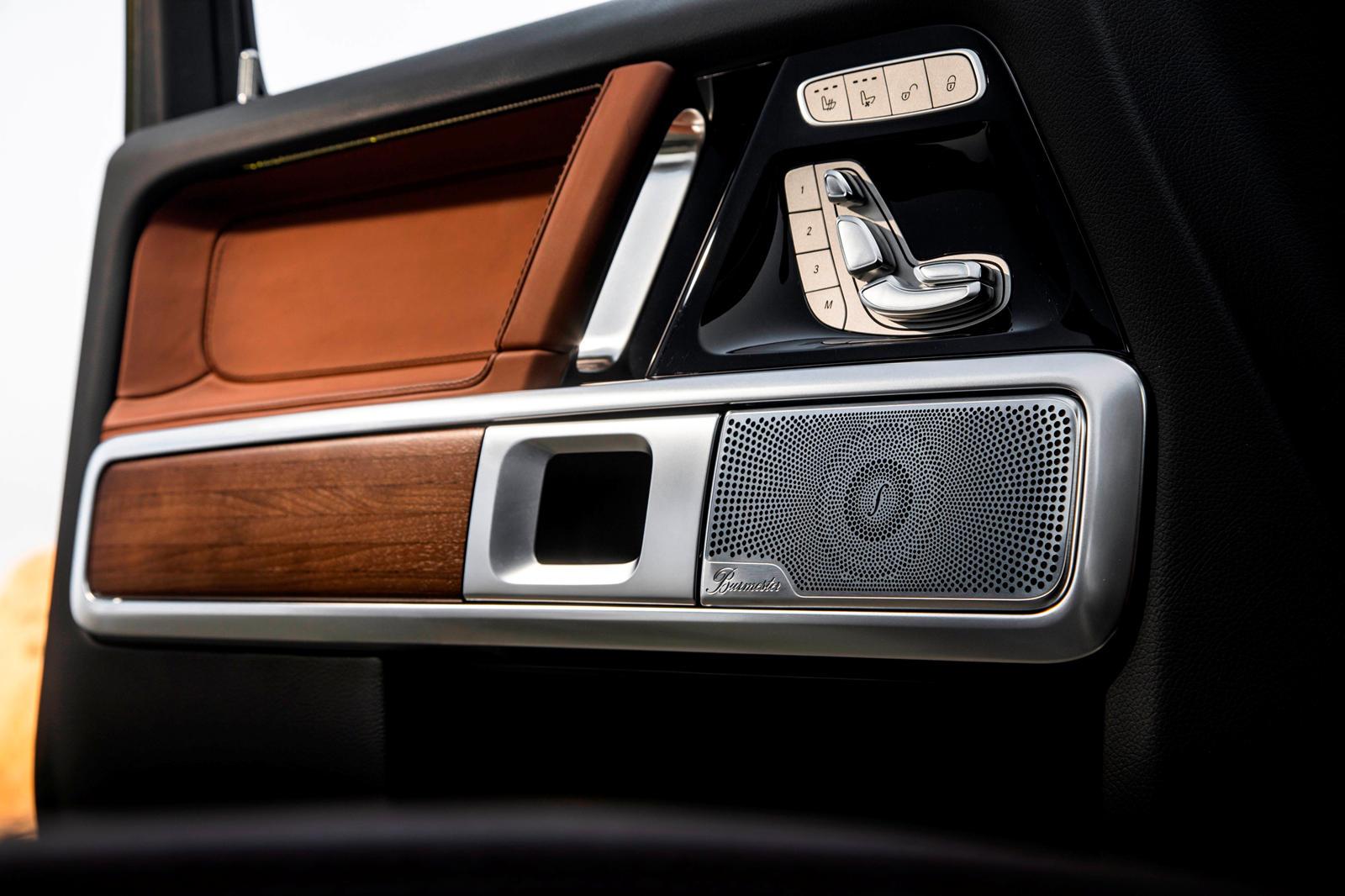 Mercedes G-Class Burmester Music System