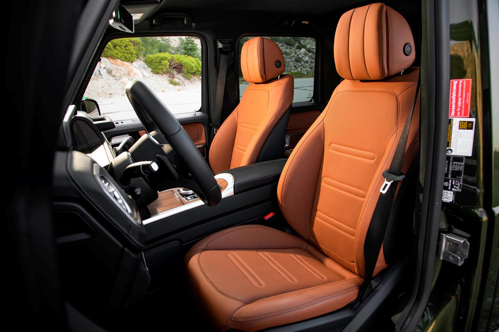 Mercedes G-Class Massaging front seats