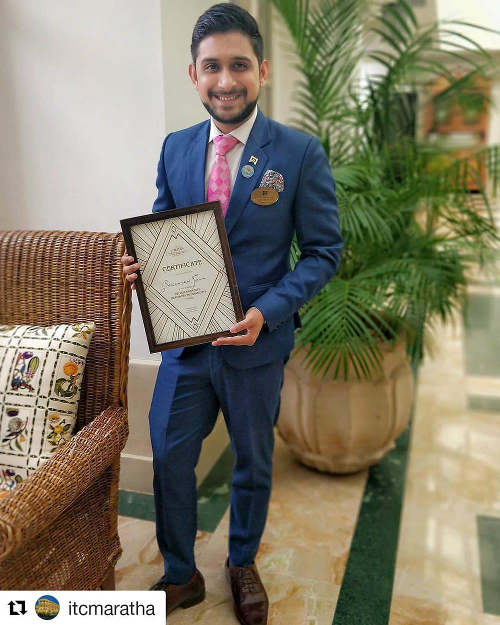 Head Mixologist at @itcmaratha Beluga Signature 2019; India Champion 🥇 Bacardi Legacy 2018; National Finalist; Glenfiddich Experimental Bartender 2018