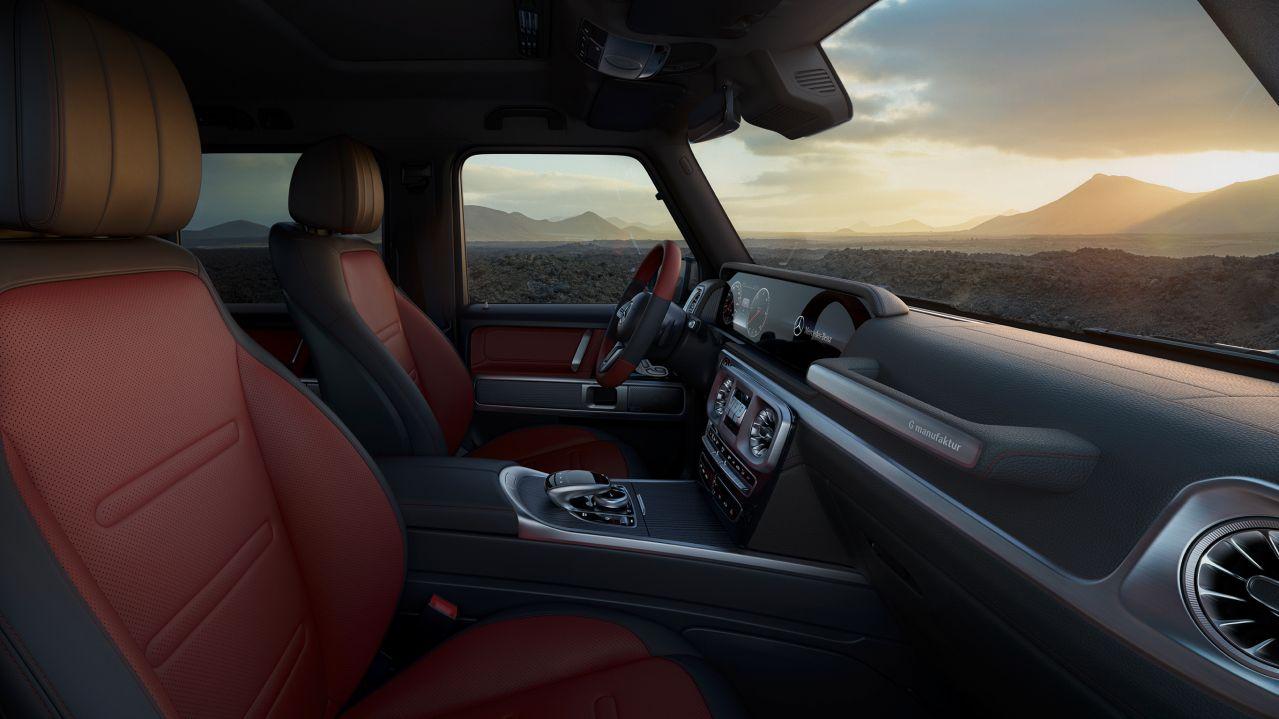 Mercedes G-Class Multifunctional steering Wheel