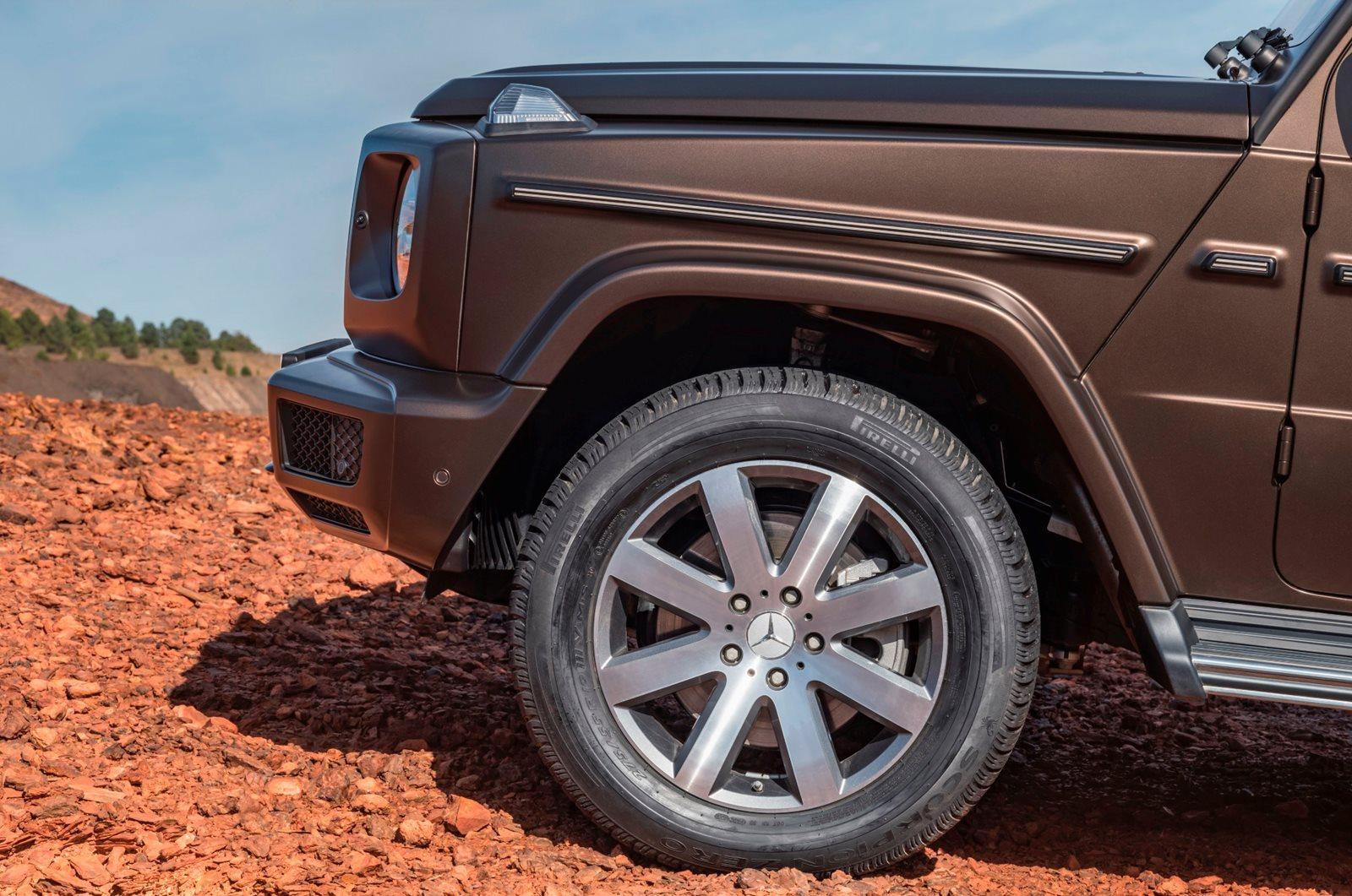 G-Wagon 19-inch wheels
