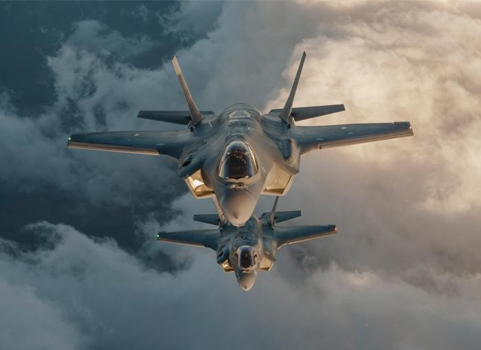 F-35b lighting