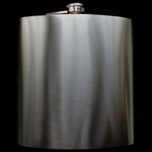 Flachmann ca. 1,2 Liter Edelstahl gebürstet mit individueller Gravur