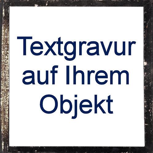 Textgravur