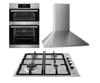 1 & 1/2 Size Oven Std Hob Std Extractor