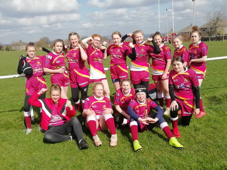 Wibsey win win win. ..... . wibsey U14s girls win 36-22 against South Leeds spartons
