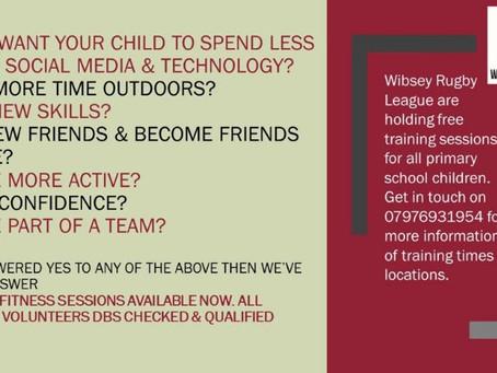 FREE kids training sessions