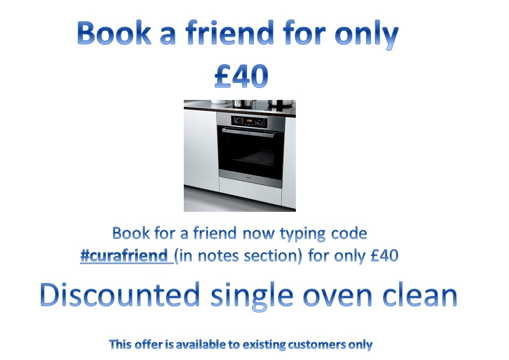 single oven clean £40
