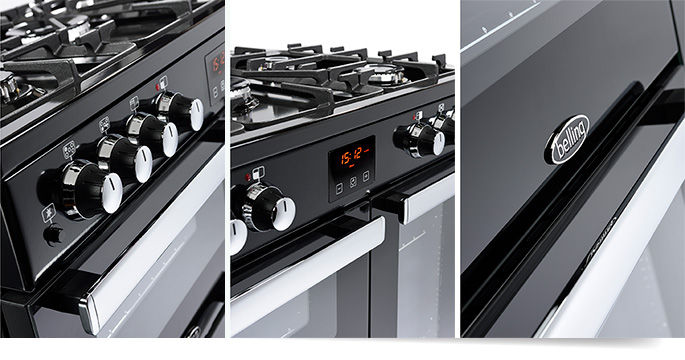 Large Range  Cooker & Extractor