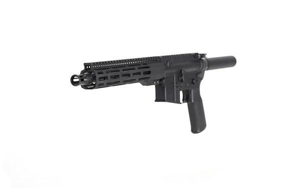 "10.5"" 5.56 NATO AR pistol with 10"" FCR"