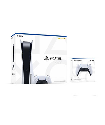 PlayStation 5 Console Disc Version With Two DualSense Wireless Controller