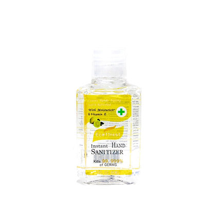Mini pocket Hand sanitizer lemon scent