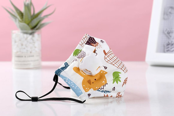 N Reusable Kids PM2.5 face masks with filters N95 (PM2.5) filter