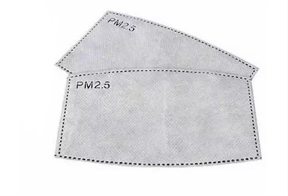 50pcs Original PM2.5 Filter Reusable Face Mask