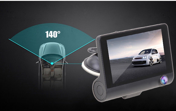 Dash Camera Triple lens HD Front and Back Recorder