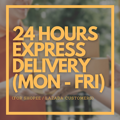 Delivery Only (for Shopee / Lazada Customers)