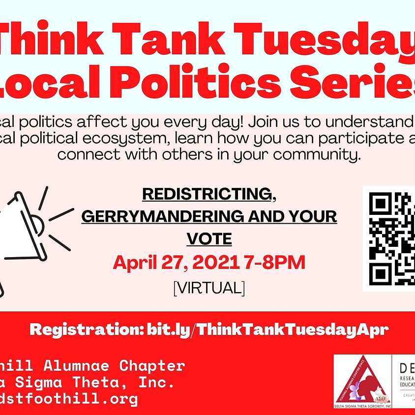 Think Tank Tuesdays: Gerrymandering