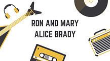 Yellow Retro Music Instruments logo Ron