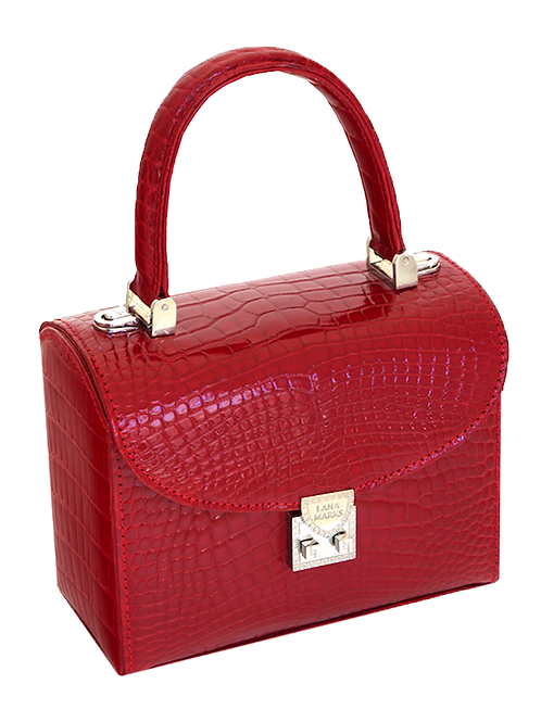 Baby Lunchbox Red Alligator
