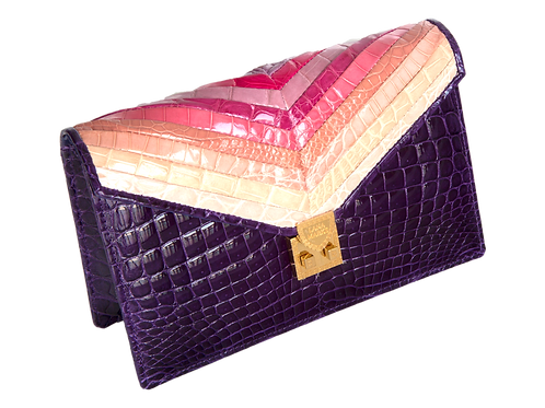 Mosaic Collection Cotton Candy Clutch