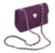 Petite Chain Bag African Violet.png