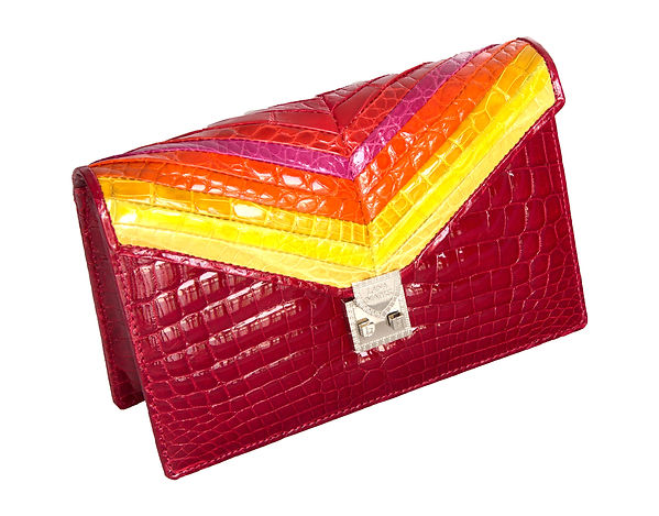 Mosiac Clutch Red.jpg
