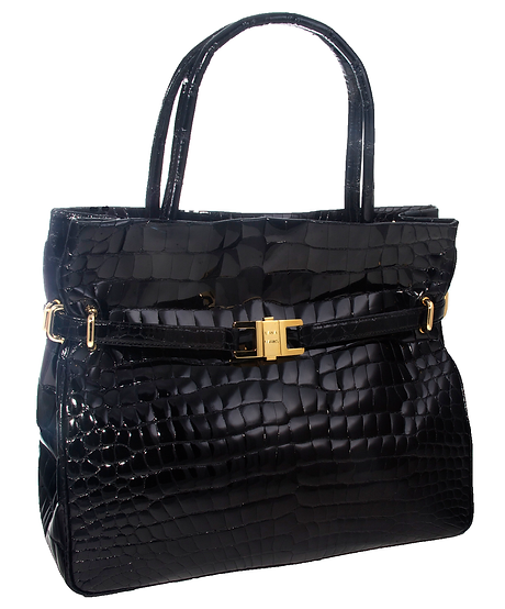 Positano Tote Black Alligator.png