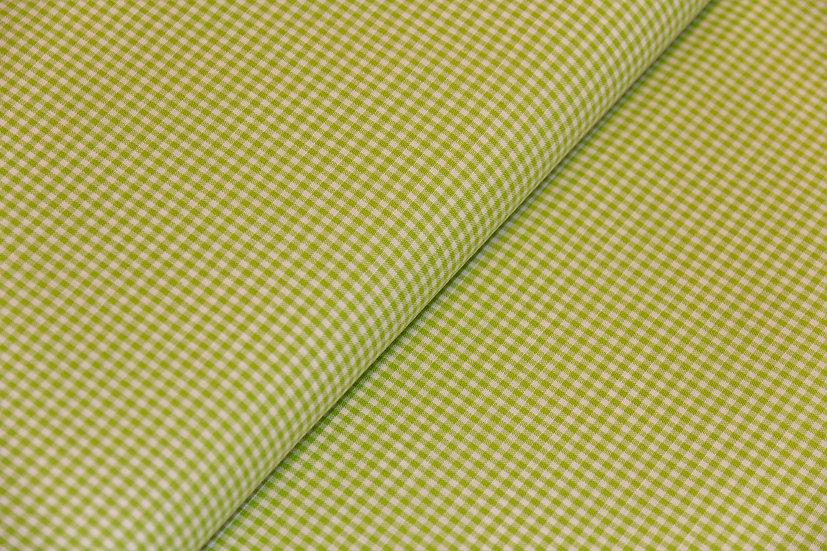 Baumwolle Georgsdorf, vich karo grün