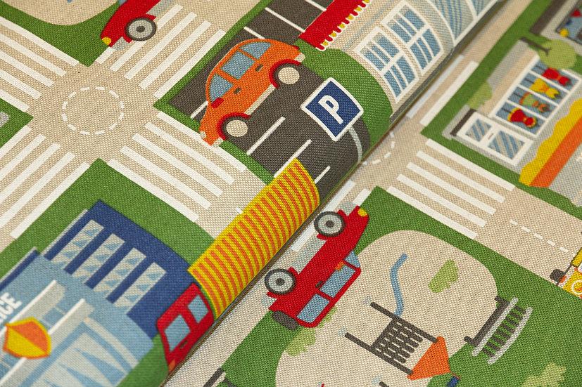 Canvas Baumwolle, Verkehrsmotiv