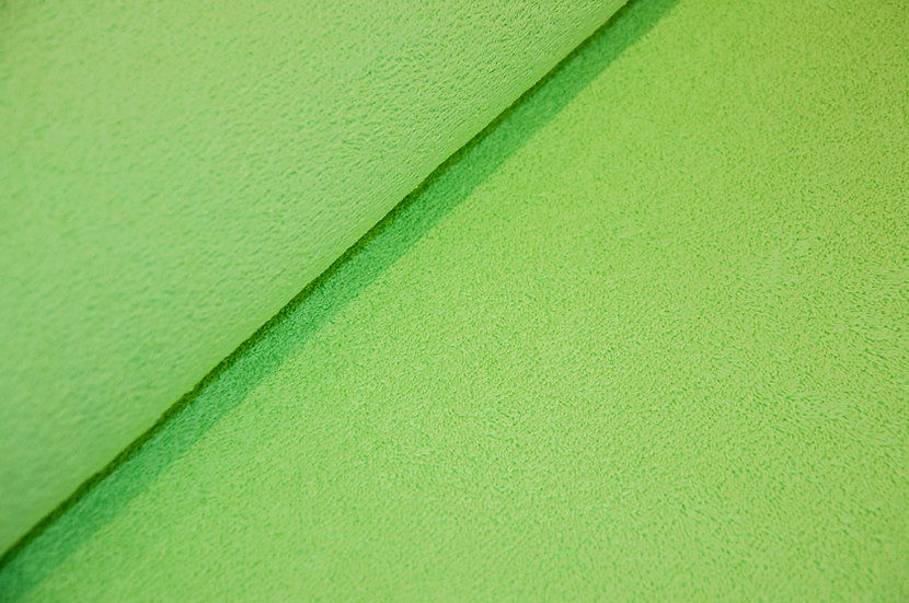 Frottee Baumwolle/Polyester, hellgrün