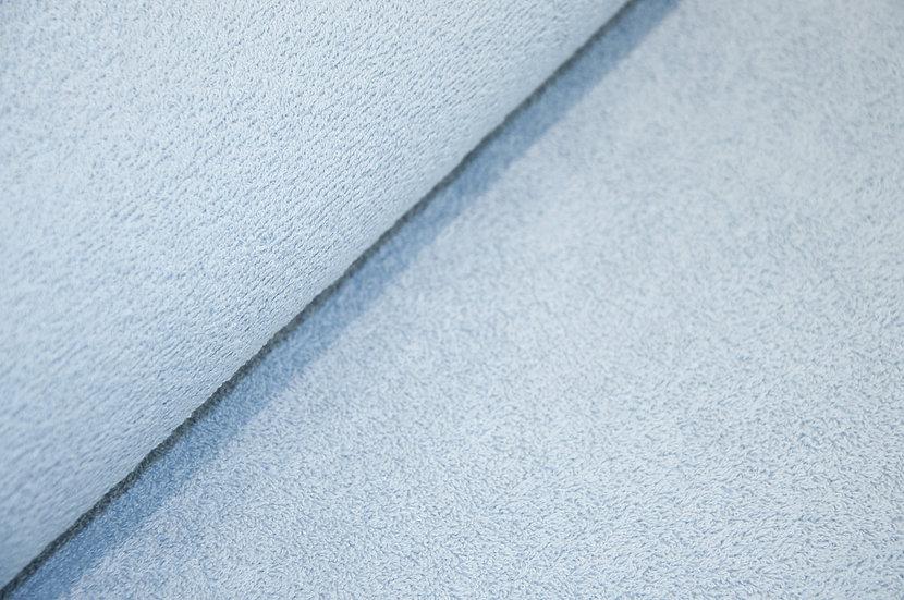 Frottee Baumwolle/Polyester, hellblau