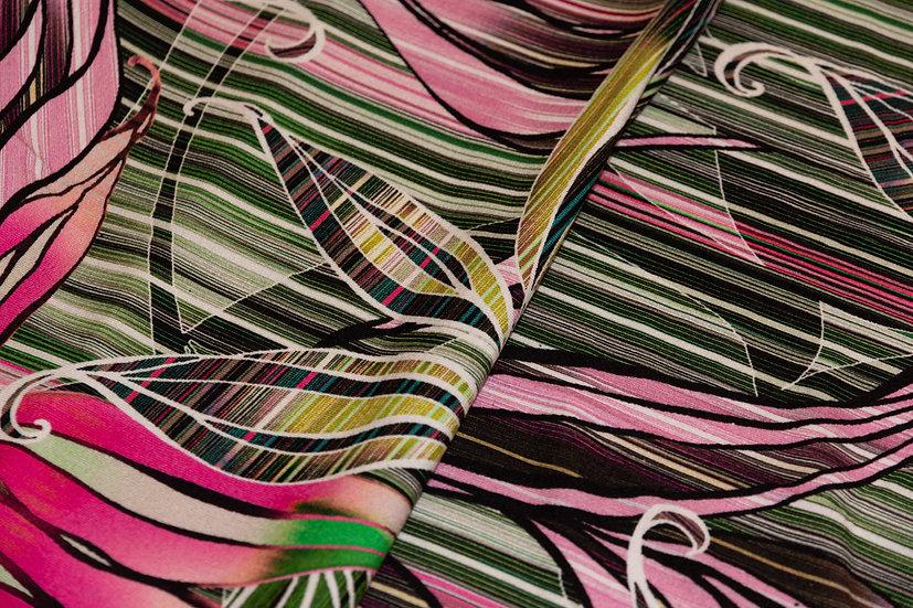 Jersey Viscose, multicolor Print