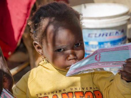 RDE  Saint-Louis:  Distribution de dons