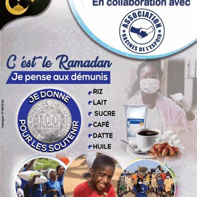 Collecte Ramadan Auchan