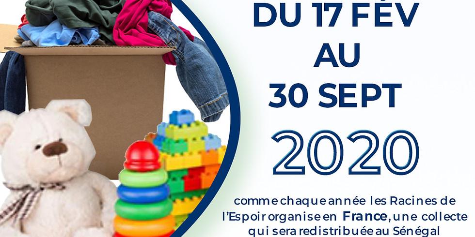 Collecte annuelle des Racines de l'espoir France