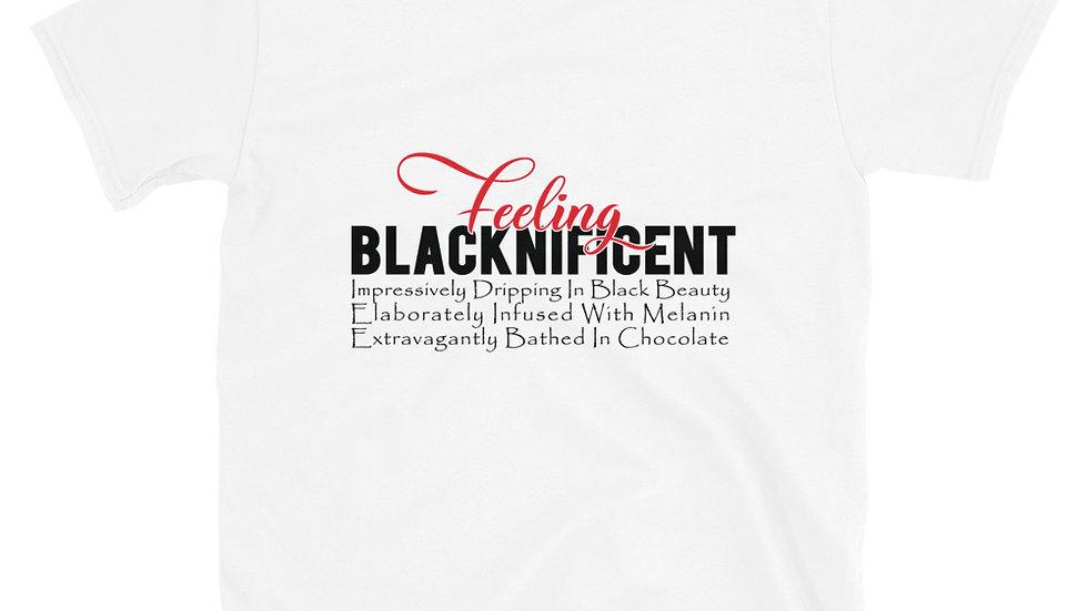 Feeling Blacknificent - Short-Sleeve Unisex T-Shirt