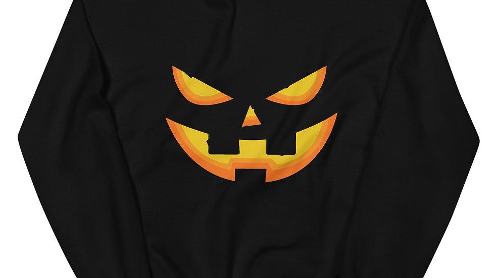 Jack-o-lantern Unisex Sweatshirt