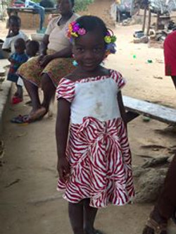 African Village Girl