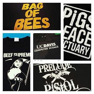 Seattle Print Shop Screen Printing on T-Shirts