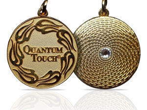 Gold Plated Quantum-Touch Pendant