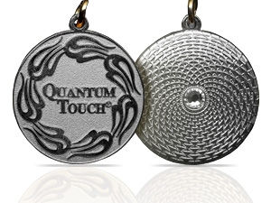 Silver Plated Quantum-Touch Pendant