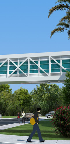 Sarasota Memorial Hospital Pedestrian Bridge