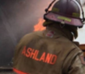 Ashland Nebraska Volunteer Fire Fighter