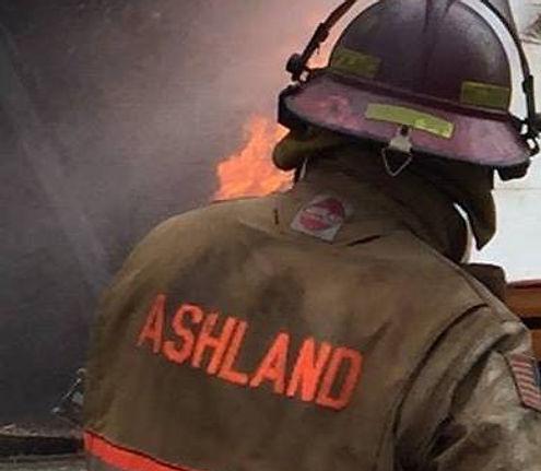 Ashland Nebraska Volunteer Fire Fighter